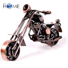 Fashion home decoration metal crafts ornaments motorcycle model