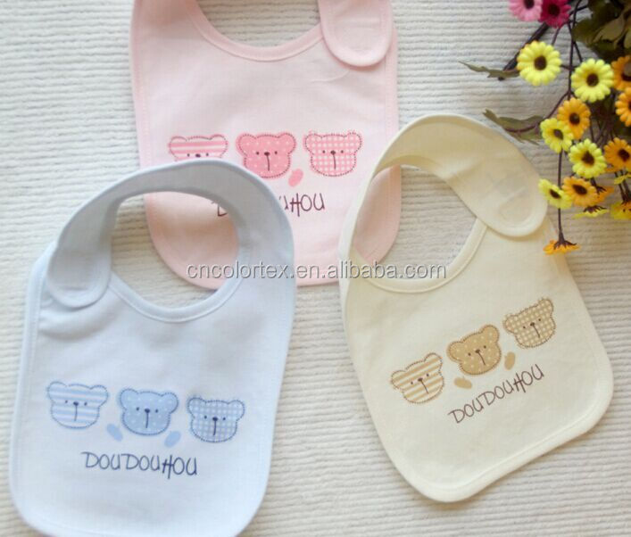 Cute animals printed Baby Bibs