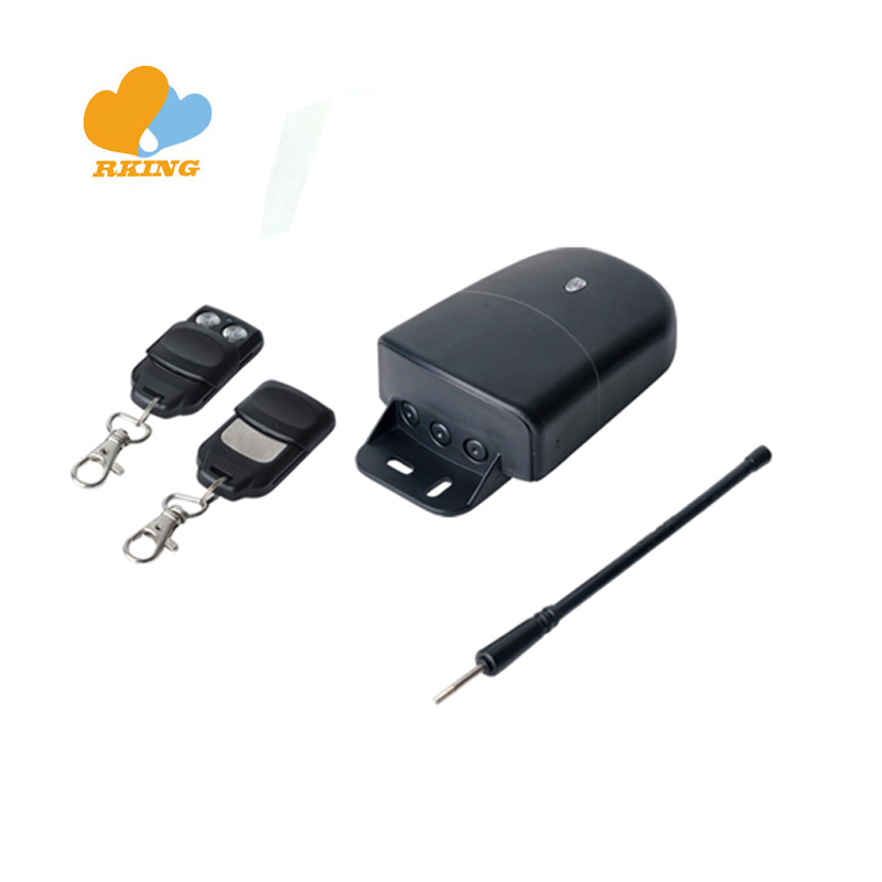 12V 24V 2 CH rf receiver kits and transmitter 433.92mhz