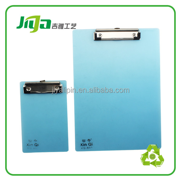 advertising good quality magnetic clip board with note pad