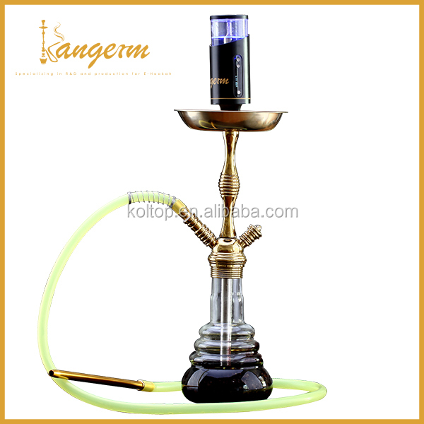 Most Popular 100W &Temperature Control kuwait electronic hookah e hookah 50ml refilling Tank ,Replaceable coil & battery