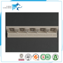 High Quality MDF Panel Moulding Wrapped White PU Foam Molding