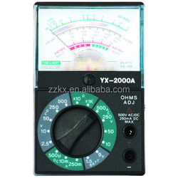 Mini YX-2000A Analog Multimeter