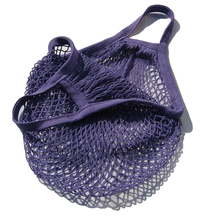 Mesh Tote Net Shopping Beach Gym Sports Bag Drawstring Purse Grocery Laundry !