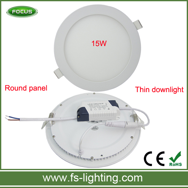 Household led lights ceiling panel light 15watts white led panel with high quality led driver