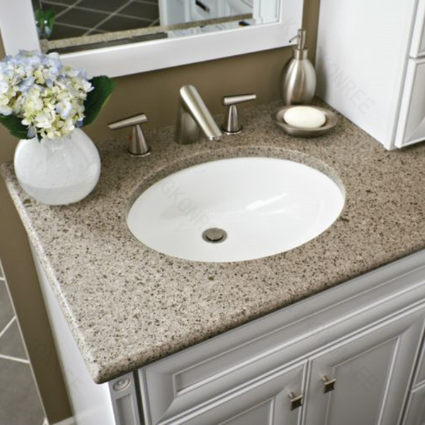 Custom Made Solid Surface Double Sink Bathroom Vanity Top View Double Sink Bathroom Vanity Top