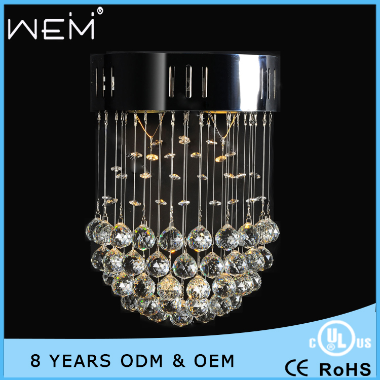 Modern Style Home Decoration Small Crystal Chandelier for Closet