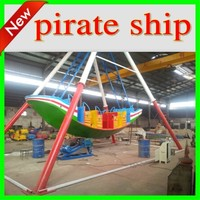 Amusement park outdoor swing ship 24 seats pirate ride