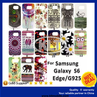 Color printing TPU back cover oil printing IMD cell phone case for samsung galaxy s6