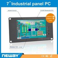 7'' Industrial winCE winXP embedded VGA tablet