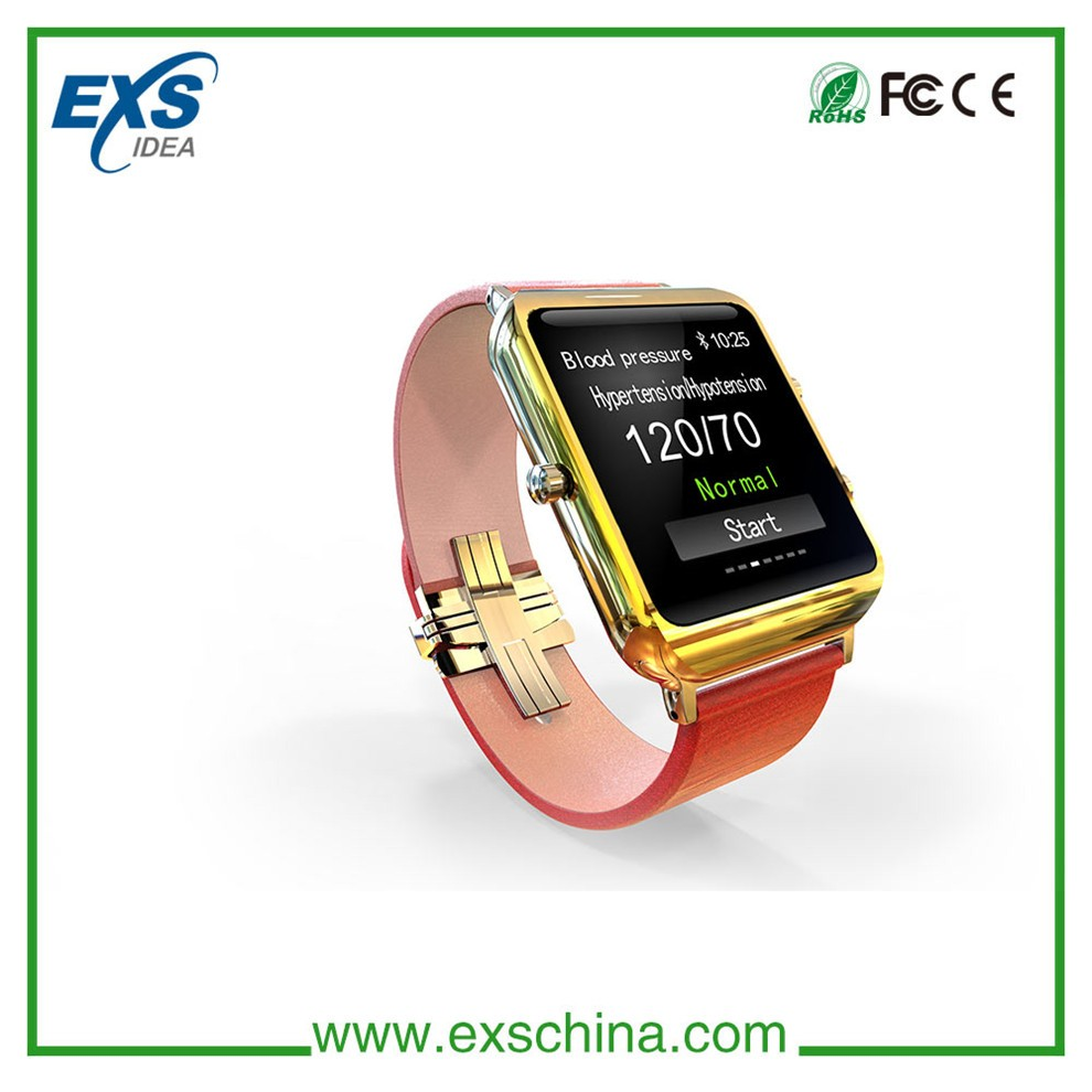 New product blood pressure monitor watch with bluetooth