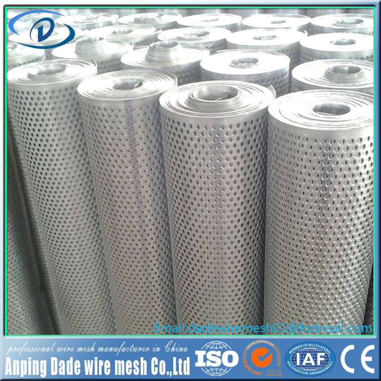 Manufacturer wholesale perforated metal mesh plate