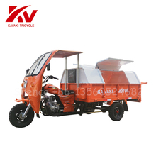 Garbage truck/Closed Cabin Cargo tricycle/Three Wheel Motorcycle/ 150cc/175cc/200cc/250cc