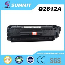 Compatible laser toner cartridge with Q2612A for 1010/1012/1015