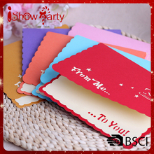 Custom Various Design Handmade Birthday Wedding Sample online birthday cards