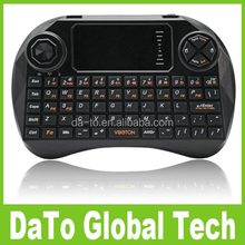 VIBOTON-X3 2.4GHz Mini Wireless Keyboard Remote Control with Touchpad Handheld for TV Box