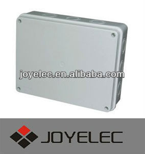 255*200*80 water proof junction box without rubber plug
