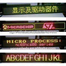 Electronic advertising board 3G full color led taxi display sign