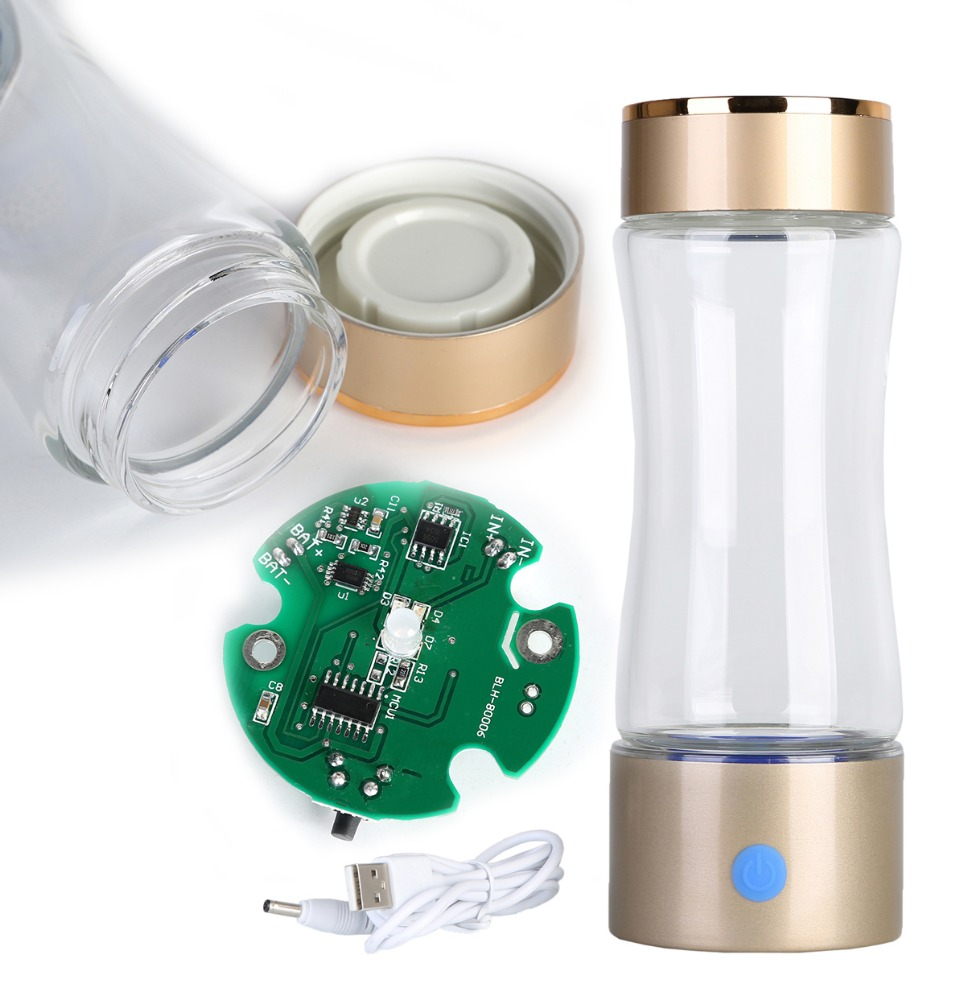 Inized Electrode high concentration hygrogen <strong>water</strong> For Better Drinking <strong>Water</strong> Portable Alkaline <strong>Water</strong> Bottle