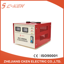 Cken Portable Servo Motor Three 3 Phase AC 220V Voltage Regulator Stabilizer For Water Pump