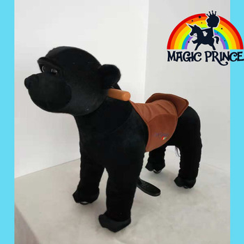 Magic Prince for kids birther day gift ride on animal toys with wheel