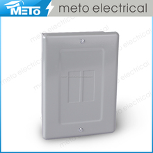 50A single phase 2 way outdoor electrical panel /load center/modular enclosure/junction box