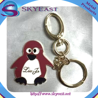 High Quality Customized Cute Charms and Hooks with Metal Key Holders