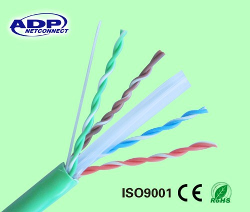 Factory low cost 4 pairs UTP cat 6 network cable