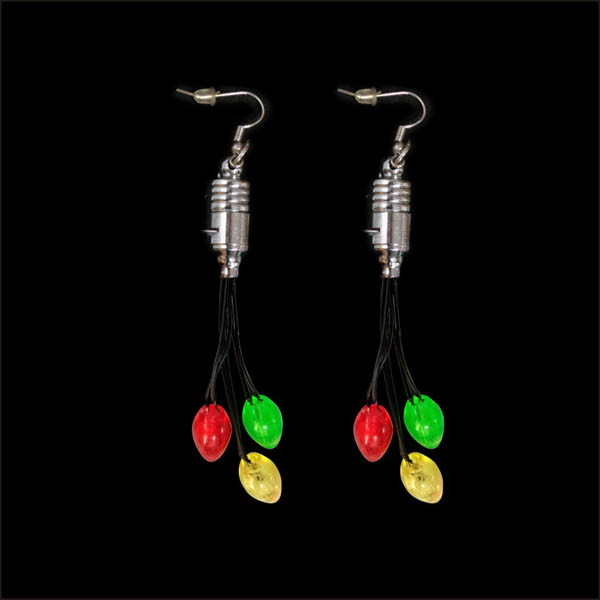 Light up Bulbs Earring Drop