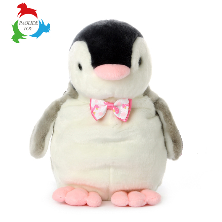 PAOLIDE professional eco-friendly custom penguin plush stuffed toy