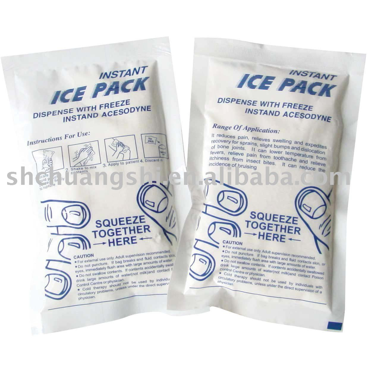 Instant cold pack(FDA&CE approved)