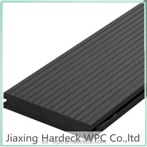 wpc decking floor for outdoor covering