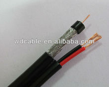 rg9 coaxial cable+power cable with high quality conductivity