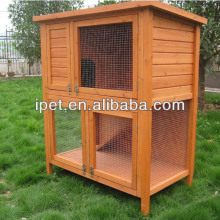 Petsmart Large Outdoor Wooden Rabbit Hutch with tray RH030
