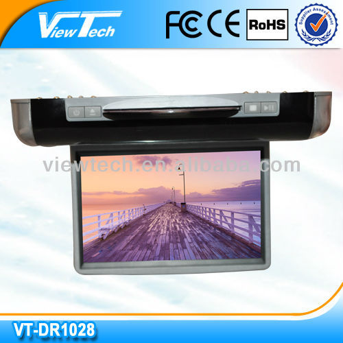 10.2'' roof mounted car dvd player w/game/USB/SD/IR/FM