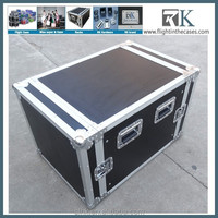 Flight Cases Rack Deluxe Effect Racks 10UED with Caster Borad