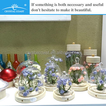 Glass Bell Jars Wholesale Clear Dome Amp Bottle Shape Wedding
