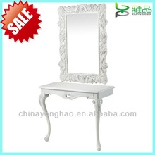 2014 new style dressing mirror with cabinet
