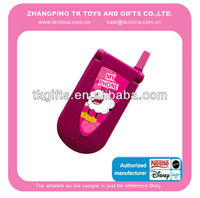 2015 hot sale Lovely Plastic Musical toy mobile phone for kids