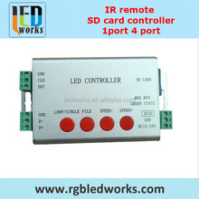 rgb aquarium led lighting controller sd card portable