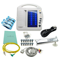 ECG Machine CE ISO Approved 12 Channel Portable 10 inch Touch Screen Digital Electrocardiograph 12 lead EKG