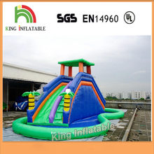 Mini Polyester Bouncy Castle Cheap Water Slides Inflatable For Kids