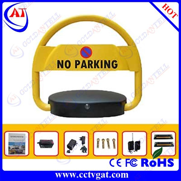 Steel telecontrol parking lock / remote control car parking/automatic parking lot barrier
