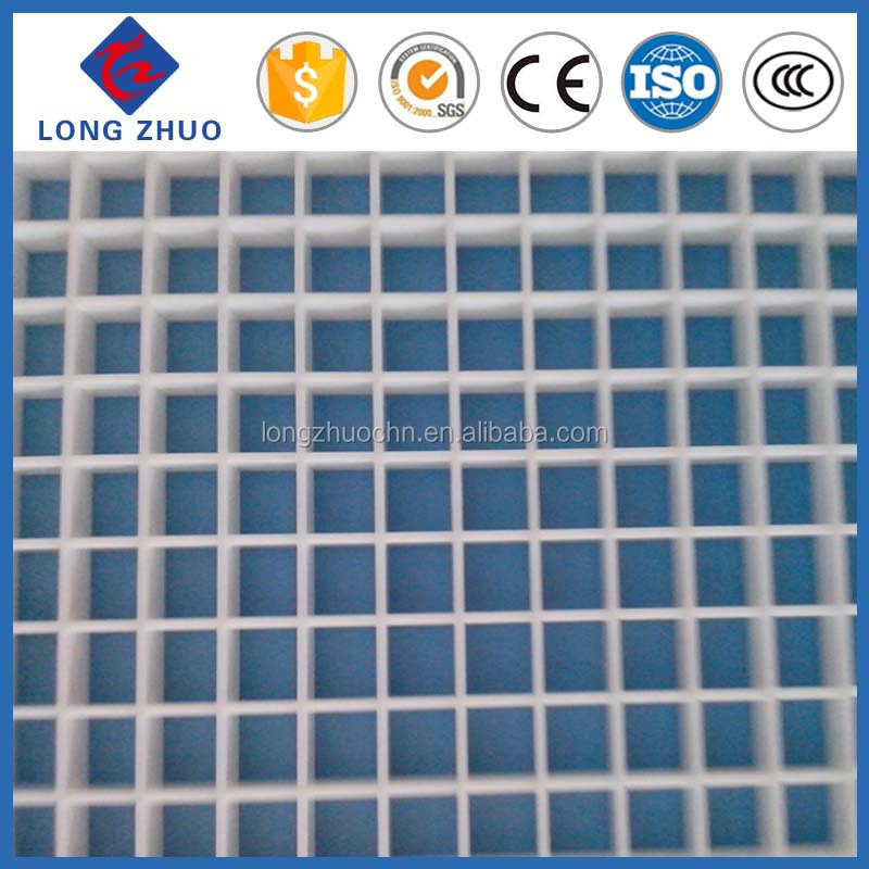 Egg Crate Grilles Sheet, Plastic eggcrate grille