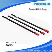 Tapered Hexagonal Drill Rods