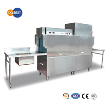 Stainless steel Kitchen Appliance Dish Washing Machine/Conveyor Type Dishwasher with Dryer(Dish Cleaning Machine)