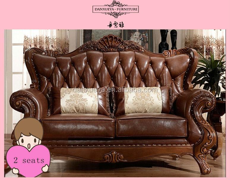 Arabic Majlis Furniture Antique Sofa Frame Leather Sofa