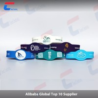 Silicone Waterproof/ Full Colour printed RFID Wristband