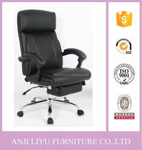 new design ergonomic folding reclining lounge office chair with footrest