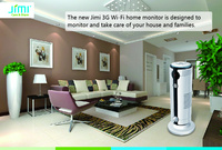 JIMI JH09 WIFI+WCDMA/GSM Wireless Monitor, Mini Network Camera, for Home Surveillance, for Baby & The Old